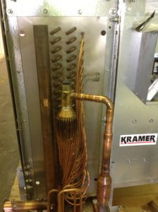copper piping for Kramer unit