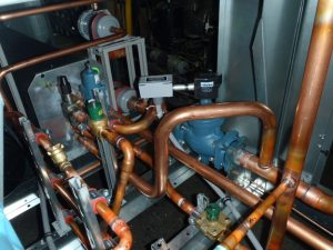 copper piping for refrigeration unit